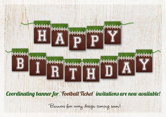 Fiesta del fútbol fútbol para imprimir fútbol bandera por customaed