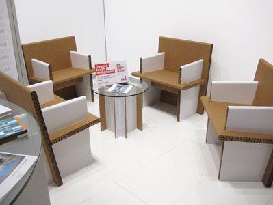 Mobili di cartone EXPO P-ONE   Stampanti 3D, Robotica e Design   my-3D Store
