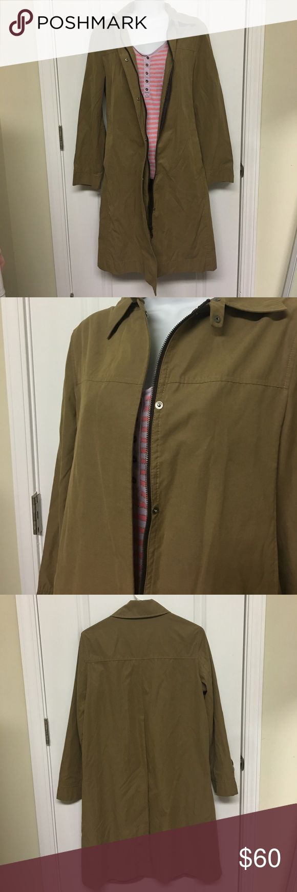 Jakes*s European olive green dress jacket Stunning dress jacket! Can be worn all year long. Says size 34. I recommend this for a size small-medium. Comes with replacements snaps. jakes Jackets & Coats