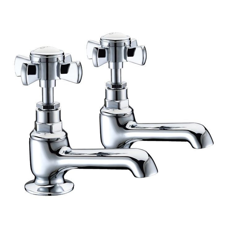 Windsor Traditional Bath Taps Pair £39.95