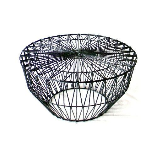 Worley Coffee Table: Drum Ottoman/Table