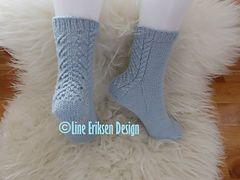 Ravelry: Viktoria sokken pattern by Line Eriksen