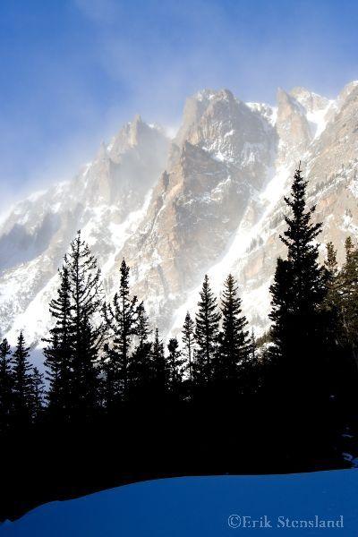 Winter in Dream Lake, Rocky Mountain National Park, Colorado