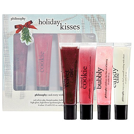 Philosophy Holiday Kisses Lip Set.