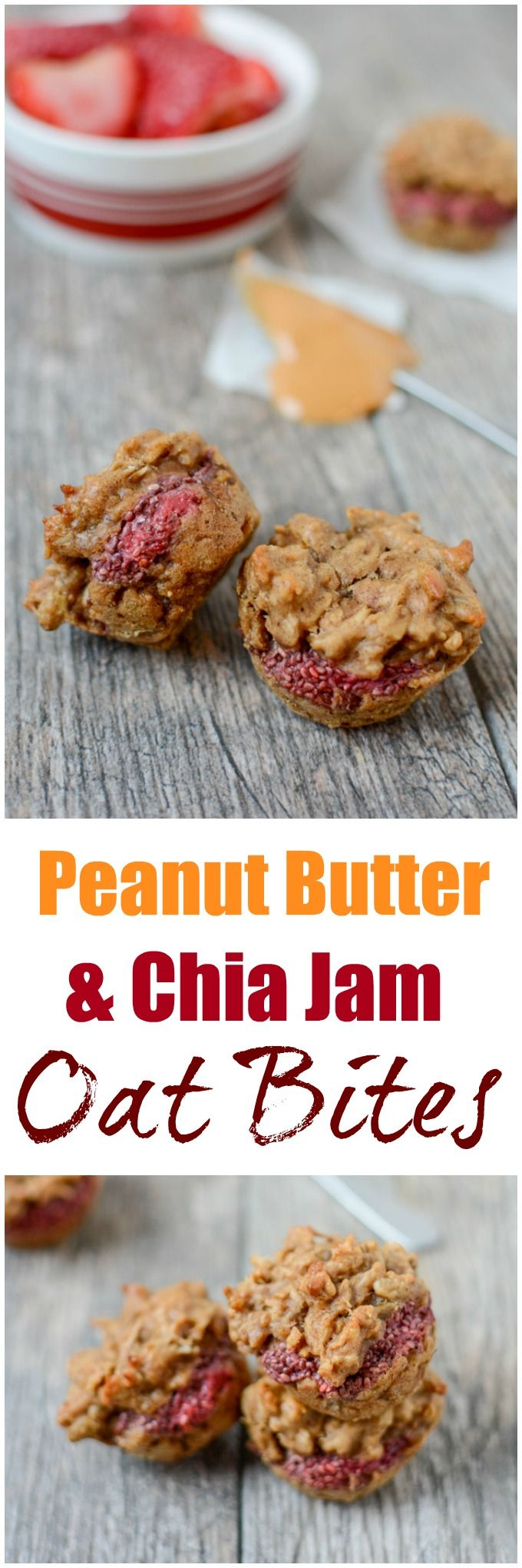 This gluten-free recipe for Peanut Butter and Chia Jam Oat Bites is a fun twist on your favorite childhood sandwich! Perfect for breakfast or a grab-and-go snack.  Hi Friends! Just popping in to share a simple, kid-friendly breakfast or snack idea! These Peanut Butter and Chia Jam Oat Bites are bite-sized, easy to make ahead of...Read More »