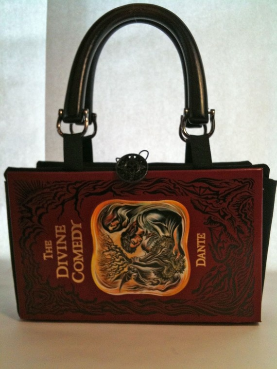 The Divine Comedy Dante Book Purse by NovelCreations on Etsy, $45.00