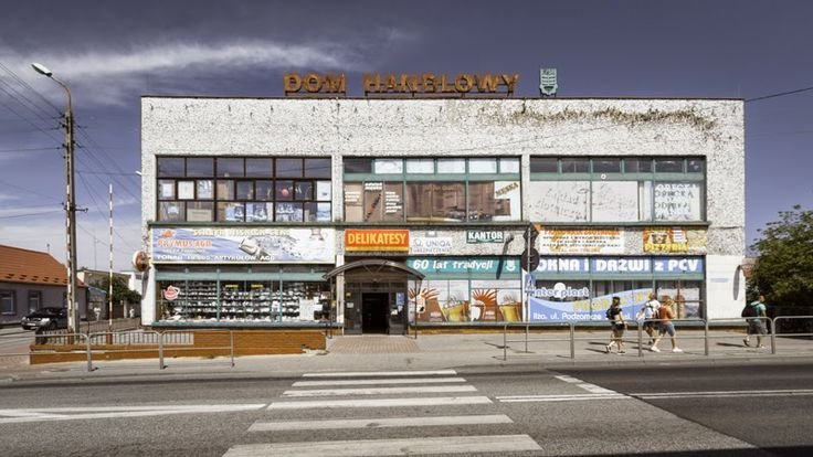 Vintage Shopping Center in the city of Ilza, Poland
