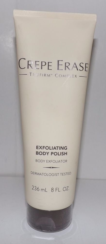 Crepe Erase Exfoliating Body Polish 8 oz - FULL SIZE #CREPEERASE
