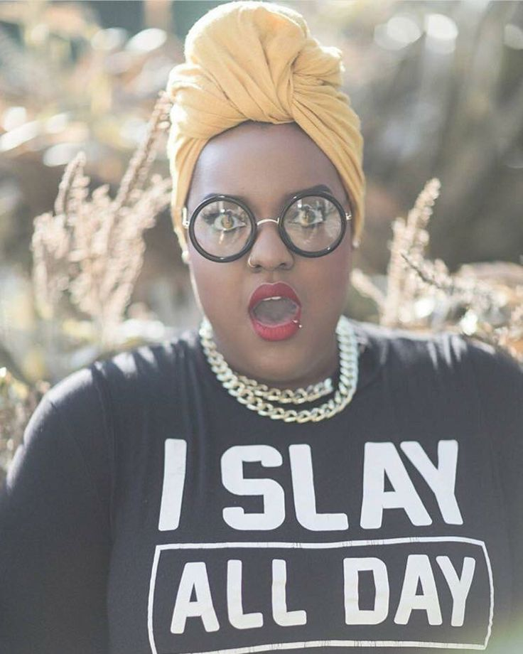 """""""The high-fashion expression you make when continually break ignorant stigmas attached to your Muslim-ness. Your Fat-ness. Your Black-ness. And all the other little categories shit heads place you in when they can't contain or explain your coolness...."""