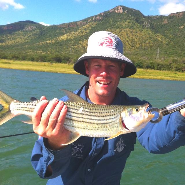 Tiger fishing in Jozini
