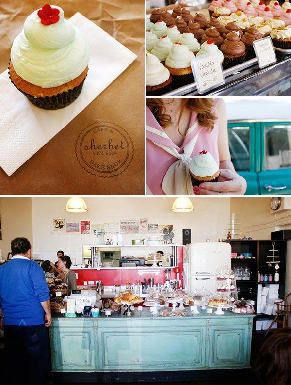 Sherbet bake shop, Perth, Australia. #travel
