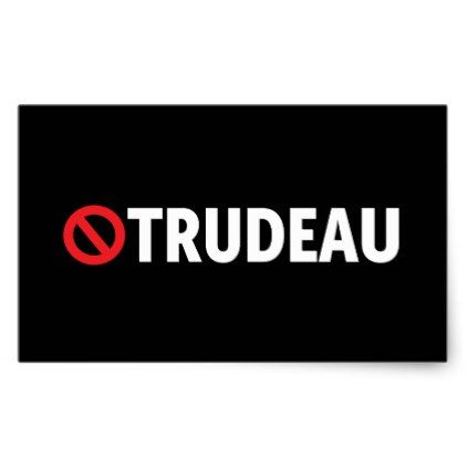 Stop Justin trudeau Canada Stickers - craft supplies diy custom design supply special