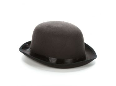 Black Felt Bowler Hat - Super Deluxe Adult. Must have! | Whish.ca