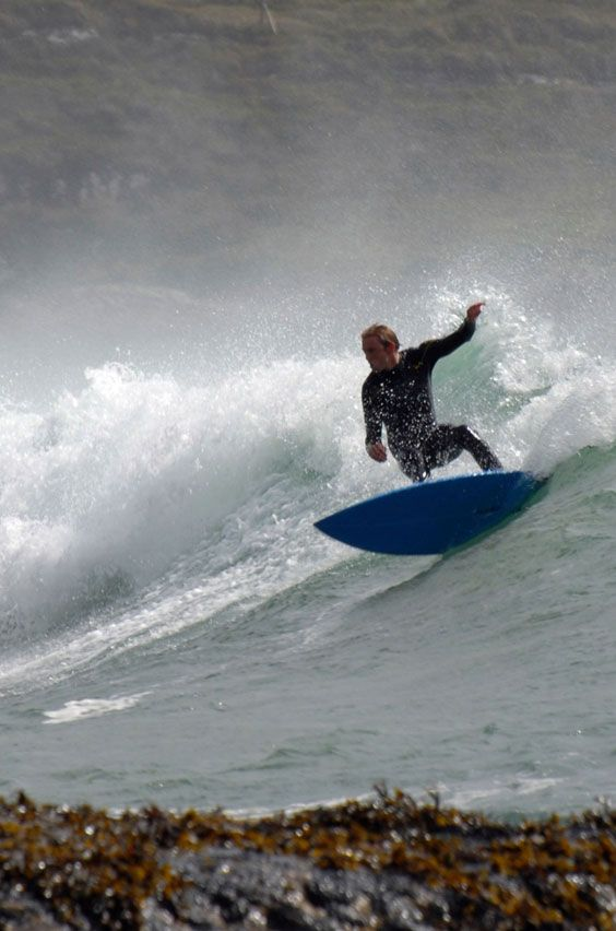 Top study abroad universities for surfers: University College Dublin in Ireland. Click link for top surf spots in Dublin and recommended transportation from campus.