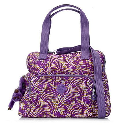 Kipling Taube Medium Handbag with Detachable Shoulder Strap