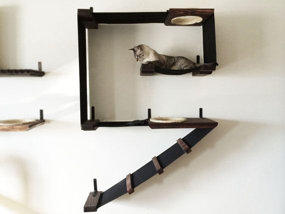 Vertical Cat Fort by CatastrophiCreations on Etsy