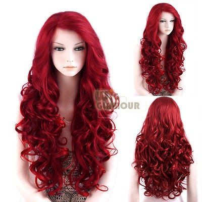 Red Wig lace front wig This wig WILL become mine one day!