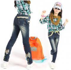 Купить джинсы для девочки подростка