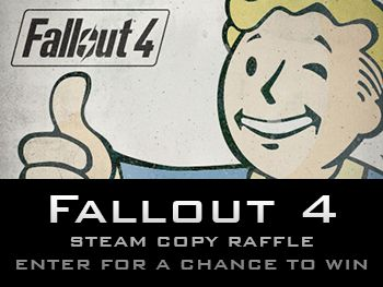 Dailyindiegame is doing a giveaway for a steam copy of Fallout 4. #giveaway #games #gaming