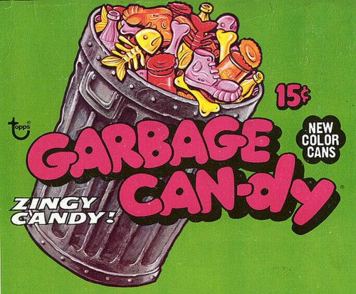 I can't believe I ate something called Garbage Candy...but I did :)