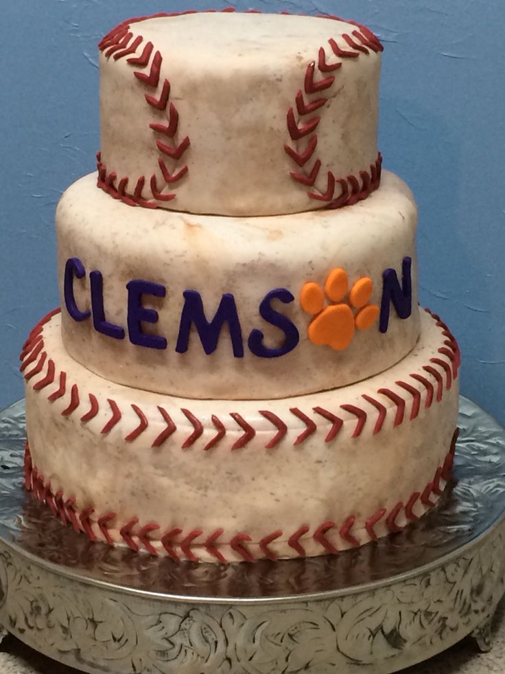 Best Images About Clemson Birthday On Pinterest Logos - Clemson birthday cakes