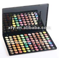 Envío Gratis 88 Super Alta brillo del arco iris del color del maquillaje de ojos paleta de sombra Sistema de cepillo