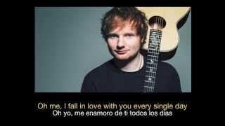 Ed Sheeran - Thinking Out Loud HD (Sub español - ingles) - YouTube