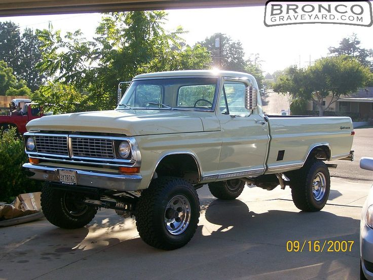 1970 ford truck | ... and new chrome...Marti report says it's 1 of 12 built in 1970. Nice