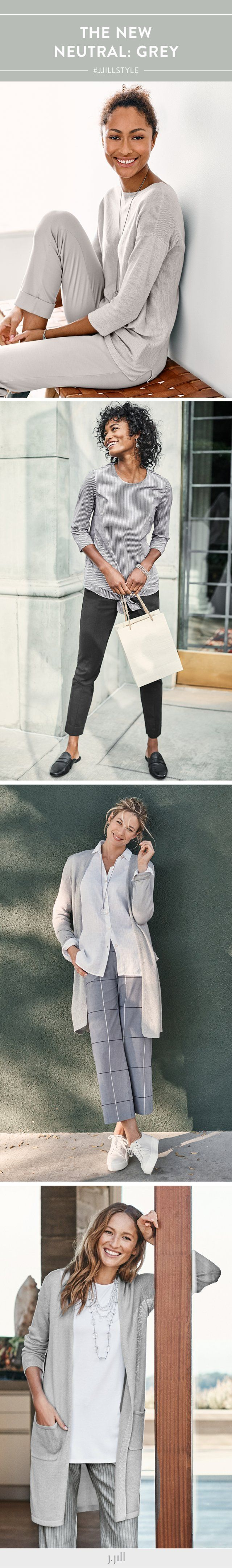 Head-to-toe style in head-to-toe netural. Shop them here (featuring J.Jill's Adrienne Boat-Neck Pullover).