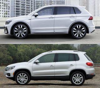 New VW #Tiguan vs Old VW Tiguan  Otomobil ve Motorsiklet Fanatikleri sayfamıza bekliyoruz www.instagram.com/autoandmotorshow