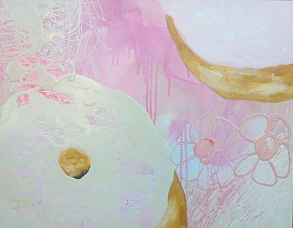 Taidelainaamo - Jonna Johansson: Two Donuts with Ice Cream
