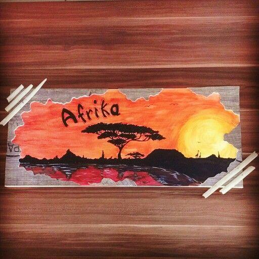 Afrika - acryl painting