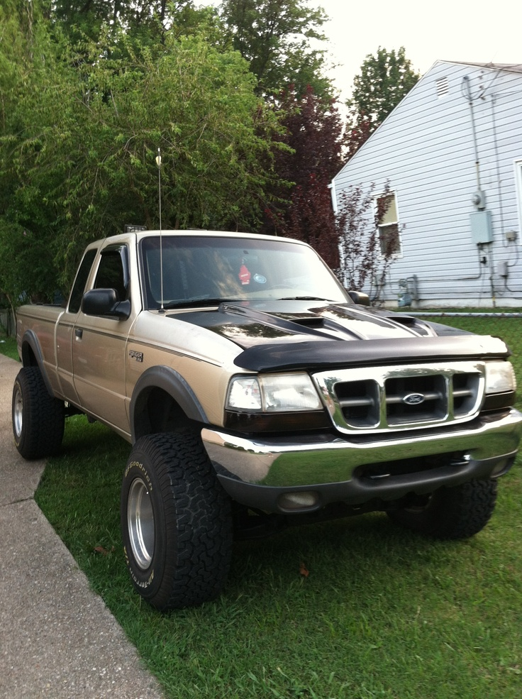 2000 lifted ford ranger