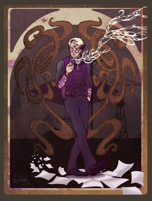 Cecil Gershwin Palmer. For a show with basically no description of the main character, Night Vale has some awesome fanart.