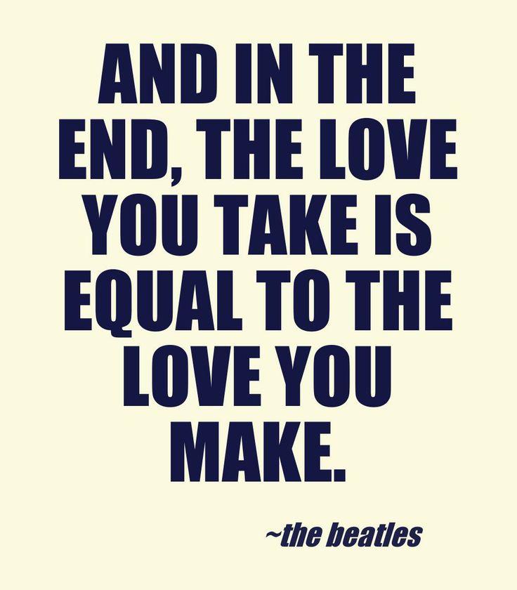 make ends meet beatles
