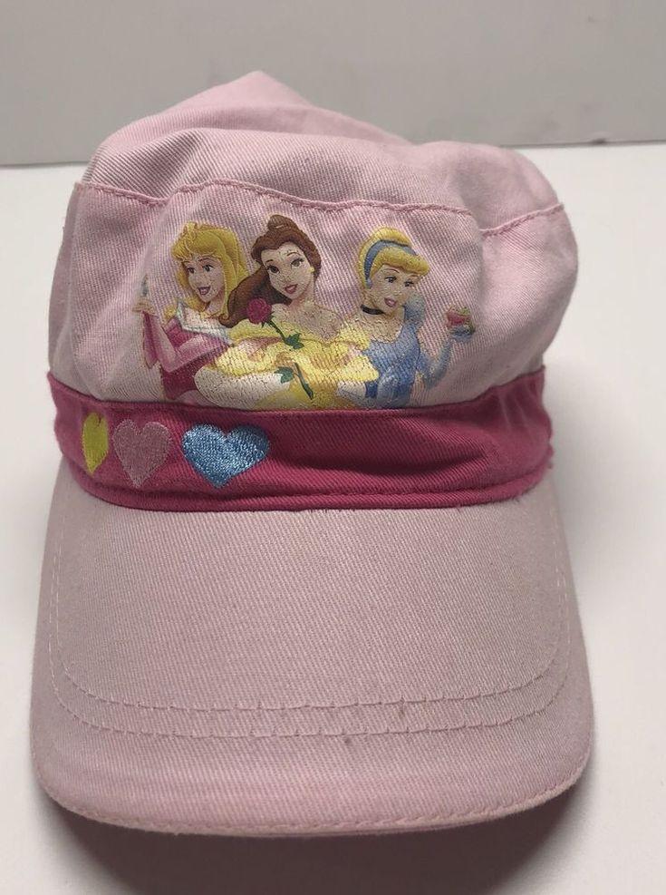 Disney park princess pink baseball cap hat size youth