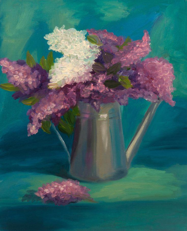 Lilac Art Print, Still Life Art Print, Original Art Print, Still Life, Print…