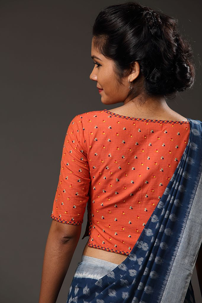 Thumbapoo Blouse ~ Manjal – Seamstress This blouse is our take on the iconic…