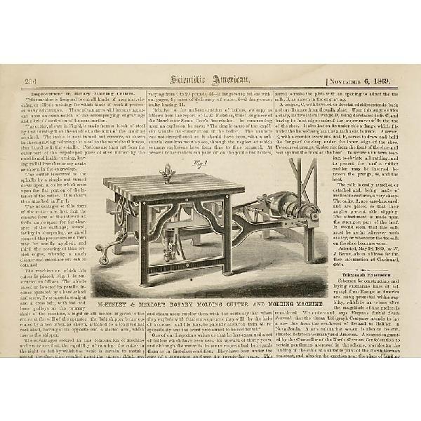 rotary cutter machine