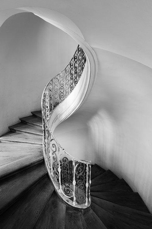 barokní schodiště - Plasy Jan Blažej Santini Aichel