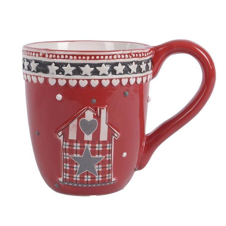 Ceramic Christmas Mug Set 4 Pieces - Porcelain - Ceramic - Christmas - SEASONAL