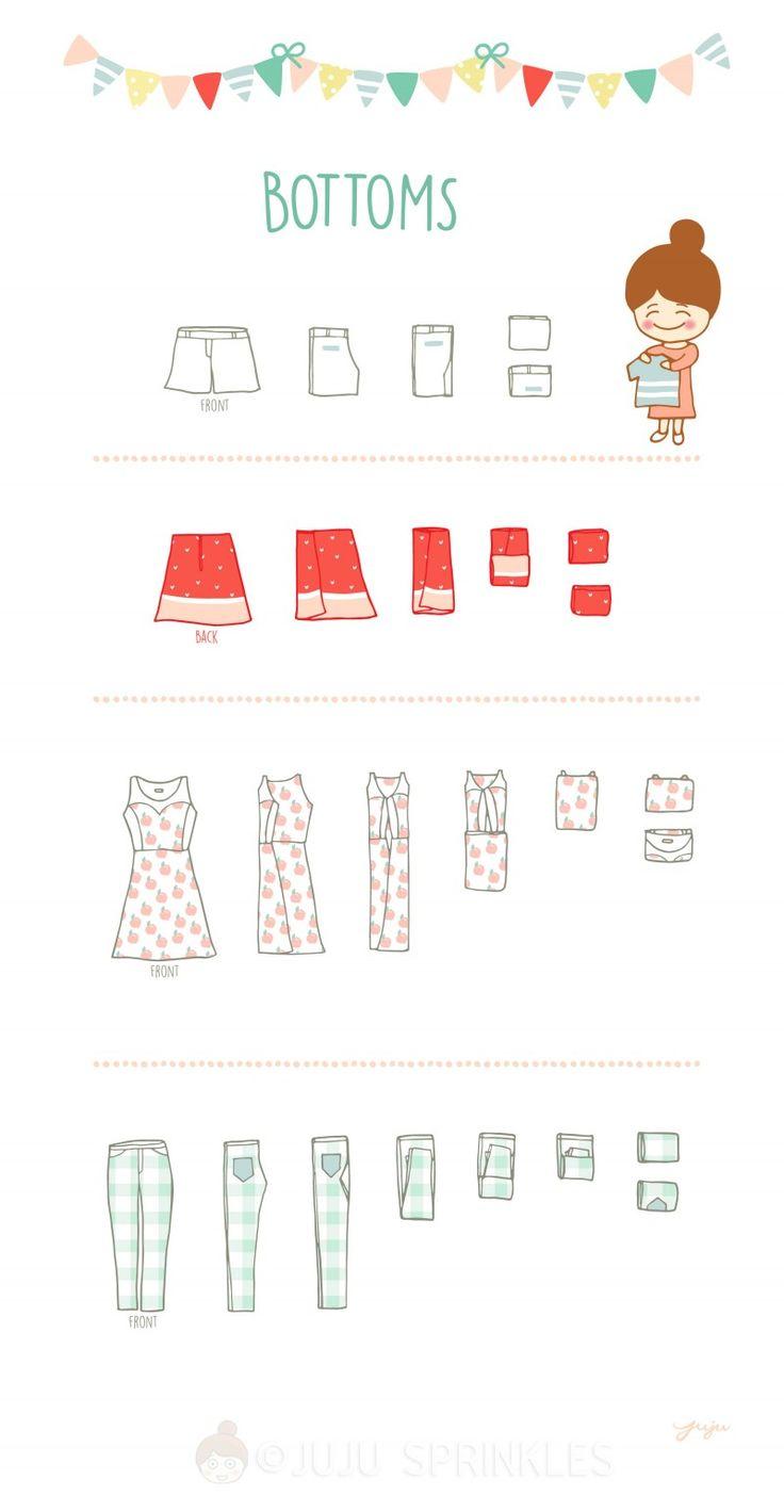 8 besten closets bilder auf pinterest kleidung falten hosen falten und reinigen. Black Bedroom Furniture Sets. Home Design Ideas