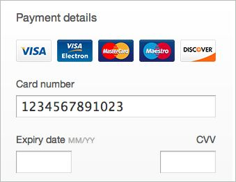 jquery credit card validation