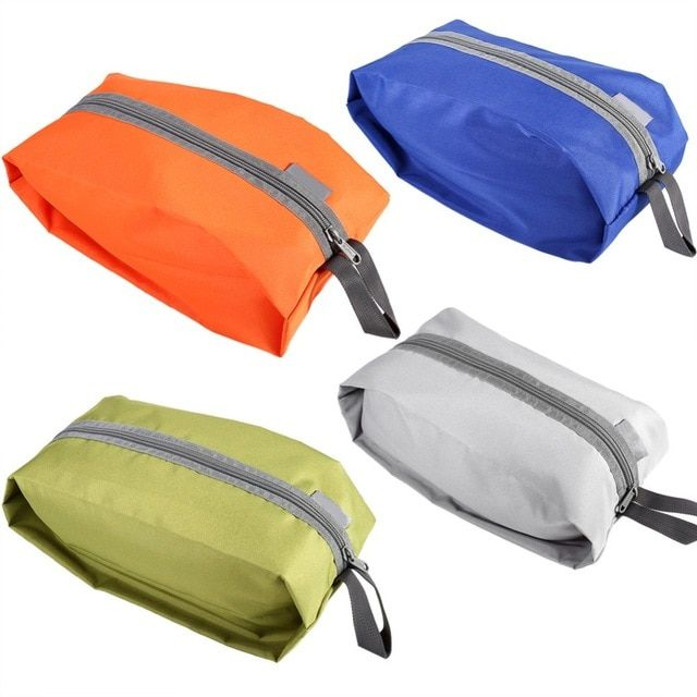 Durable Ultralight Waterproof Oxford Washing Bag Camping Hiking Travel Kit Pouch Storage Bag Stuff Laundry Shoes Container Review Camping Bag Shoe Pouch Bags