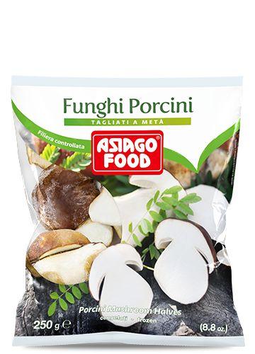 Funghi porcini tagliati a metà 250g - Asiago Food
