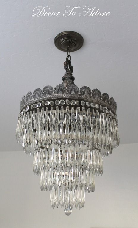 How To Clean An Antique Chandelier at Decor To Adore.