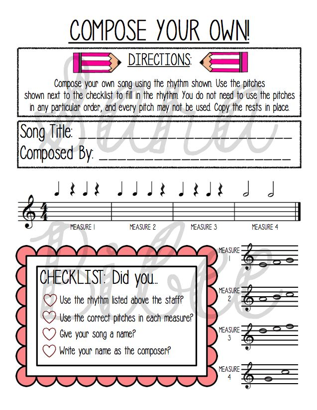31 Valentine's Day-themed music activities!  http://www.teacherspayteachers.com/Product/Valentine-Music-Activities-Mega-Pack-31-Activities-56-Pages-1059584