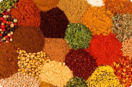 Curry, cardamon, ginger, cinnamon ...Natures anti Inflammatory :)