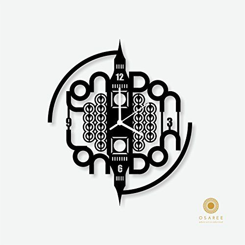 Amazon.com - Osaree London - The Big Ben Tower Silhouette Wall Clock -