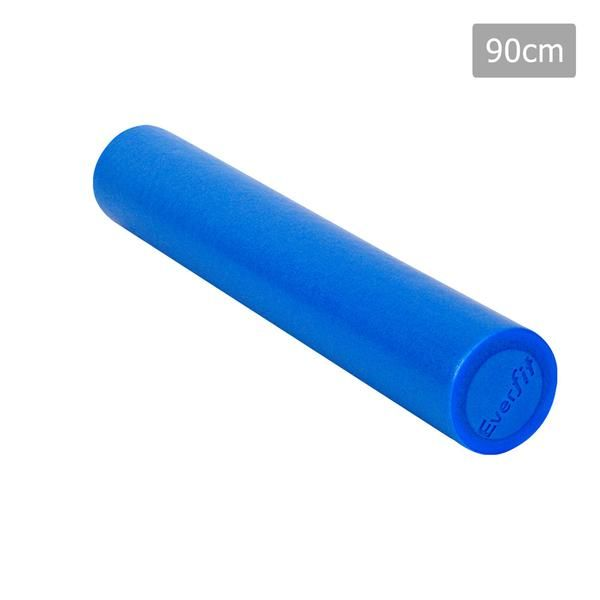 Yoga Gym Pilates EPE Stick Foam Roller Blue 90 x 15cm – Click Online Sales